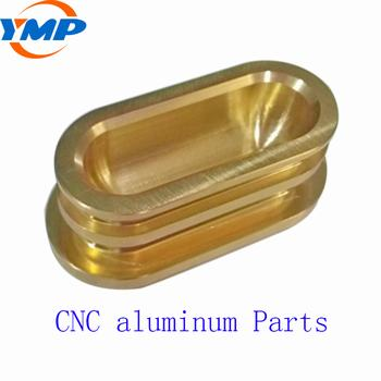 Cnc Turning Aluminum Part With Custom Precision Machining Small Metal Parts
