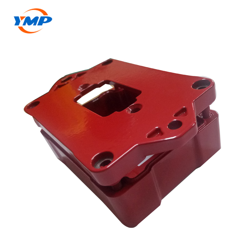 Red Powder Coating Aluminum Die Casting