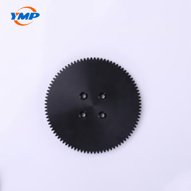 Custom CNC Turning Black POM Plastic Ge